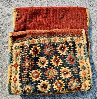 Shahsevan,small khorjin 1870 circa •••size 46x25cm