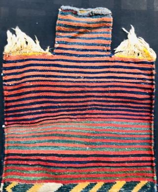 Bakhtiyari salt bag, all natural color and very good condition~size66x55cm
