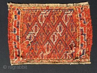 Persian Kurdish Ghouchan 1880 circa,size50x33cm