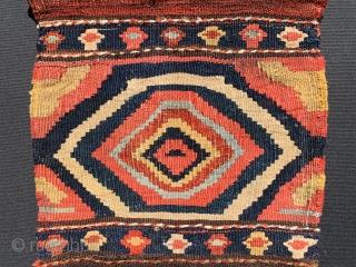 Kurdish Bijar Mafrash panel 1880 circa size38x35cm