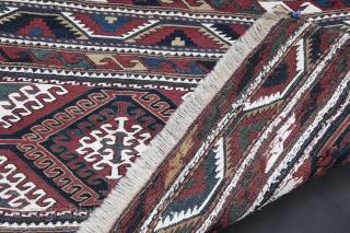 Antique Sumak Mafrash from late 19th C.