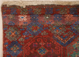 Early 19th Century Kurdish Fragment size 115x118 cm