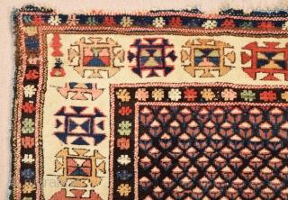 Shirvan Rug circa 1880 size 102x142 cm