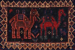 19th Century Persian Afsharor Baluch?  Bag size 30x34 cm