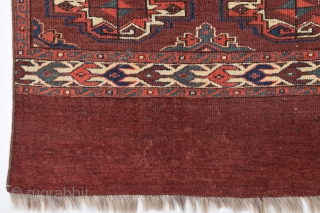 Early 19th Century Yomud Cuval size 75x94 cm