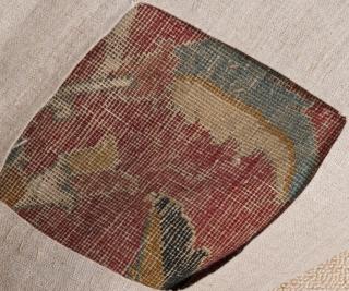 17th Century Isfahan Fragment size 119x145 cm