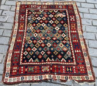 Caucasian Zakatala Rug circa 1870 size 137x176 cm