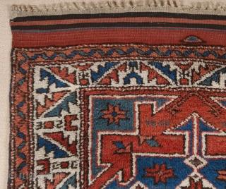 Late 19th Century West Anatolian Bergama Rug size 99x139 cm
