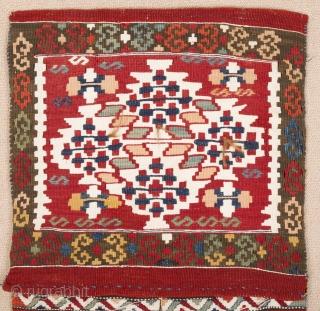 19th Century West Anatolian Heybe size 43x106 cm