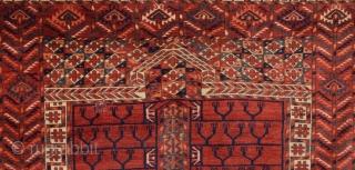 Turkmen Tekke Engsi circa 1850 or earlier size 118x165 cm