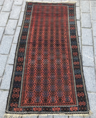Baluch Rug circa 1880 size 90x171 cm