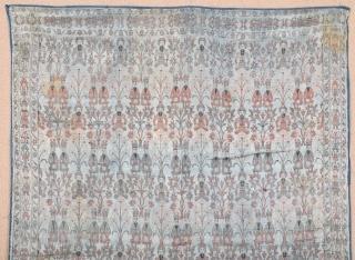 Early 19th Century Qajar Textile size 69x97 cm
