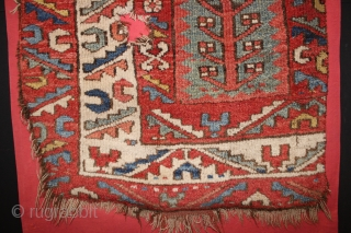 18 th century Anatolian fragment,,wonderful Natural colours