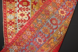 Antique Turkish Prayer rug,,some synthetic colours,,size:174x103 cm 5.9x3.5 ft