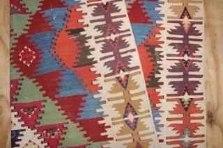 ca.1880 wonderful Anatolian Kilim ,,amazing Natural colours,,size350x156 cm  11.6x5.2 ft