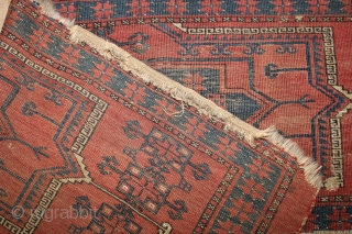 end 19th century Ersari Torba,wonderful natural colours,,size:48x171 cm