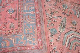 Wonderful Ushak Carpet , size 540x430 cm good condition no damage