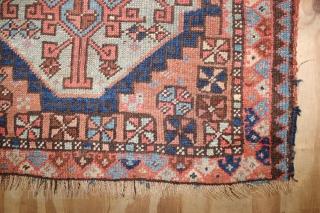 Wonderful Rare Kurdish bagface,,size:70x82 cm , wonderful Natural colours,