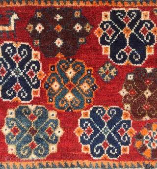Qashqai bag face fine woven 50 x 60 cm