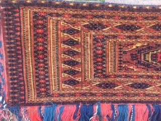 Turkoman Tekke Asmalyk fine weave 127 x 29 cm