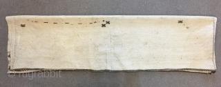 Turkoman Yomut Torba size : 170 x 47 cm