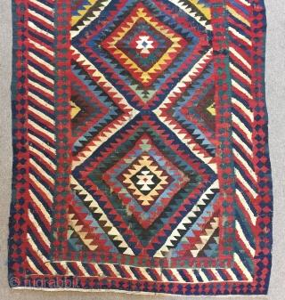 North West Persian (?) Kilim  Size : 190 x 97 cm