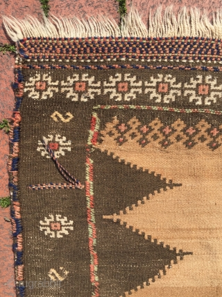 Baluch sofreh size : 120 x 120 cm
