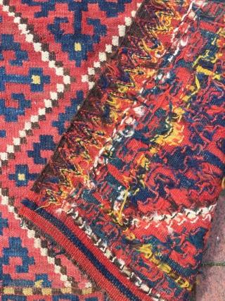 Northwest Persian Kilim bagface 85 x 85 cm