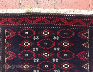 Baluch square mat 70 x 75 cm