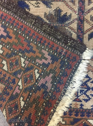 Antique Baluch Prayer Rug 145 x 81 cm