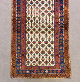 Persian Sanjabi Rug good pile 210 x 110 cm