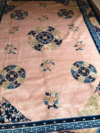 Chinese antique Peking rug. Very little used or never used. Excellent condition. Size 250/350 cm 9.8/ 13.7 inches Price: 1800  To pick up from Los Angeles Sending also possible