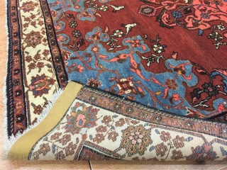 Persian Malayer Rug, 137x200 cm, very good condition with even full pile, all original. no 3564