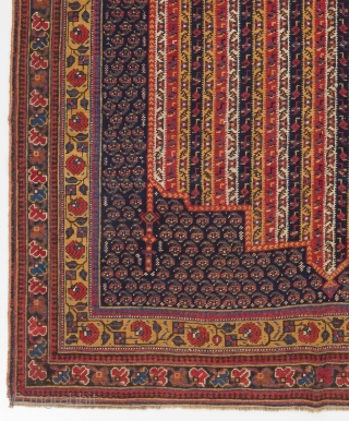 "An Exceptional antique Afshar Rug with Moharramat design, South Persia, ca 1870, 5'3"" x 8'6"" (160x260 cm)"