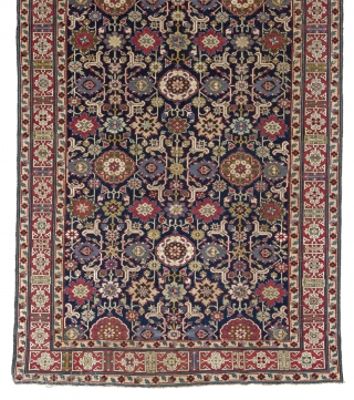 "A Magnificent ""Afshan Kuba"" rug from Shirvan region, North East Caucasus, ca 1800s