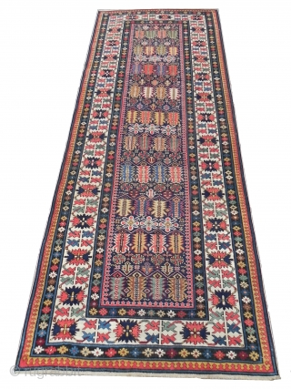 Fine Antique Caucasian Chi Chi Runner 3 11x9 10 Ft