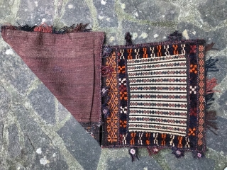 Old Baluch saddle bag Cm. 101x47.