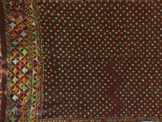 Vintage phulkari east (India) punjab India called as Mughal Buti phulkari. Perfect in condition.(DSC00301)