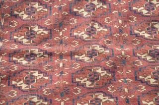 "Tekke Turkoman Wedding Dowry Rug, Fine Weave, Nice Condition.  Measures 32"" x 39"""