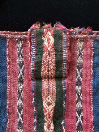 Tutorial part 3 - Anatomy of a Chuspa  - A microcosm of the Aymara weaving arts.   Early Aymara  coca bags like the one featured here are exceptionally rare.  This  ...