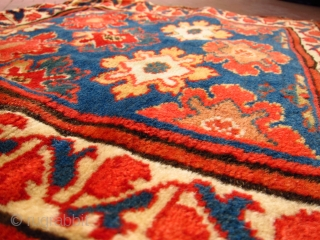 19th century Kurdish bagface. For the price and other colourful and rare rugs, please go to www.jamescohencarpets.com just updated today....