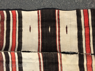 North african kelims Wool and wool Size 240/135 cm
