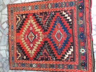 Karabağ carpet rare size good condition  Size 150/120 cm