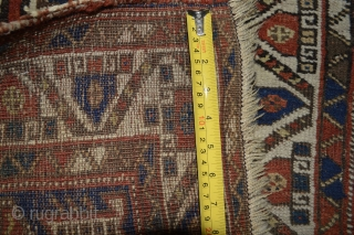 Gorgeous Antique 19th century Small Afshar Tribe rug  size 143 x 126 centimeter all natural good colors