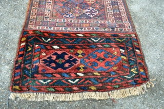 Colorful Antique Luri/Bahtiyar Bag face.