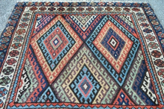 Jaf Brothers, very good colors nice look  and patern, ready to hang on your beautiful wall, size 98 x 81 right 75x 67 centimeters left, Both of them Natural good colors..