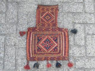 Very Rare Uzbek Saltbag end of 19 th century.
