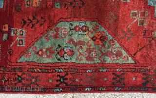 "Central Anatolian Karaman Area(Ayrancı village Rug) end of 18th / beginning of the 19th Century Size:305x135 Cm / 10""x4'5"""