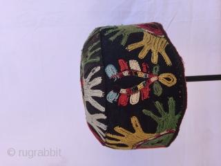 Hat from CentralAsia Lakai tribe (Uzbekistan)