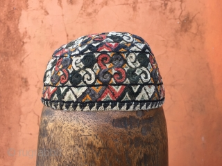 Hat from CentralAsia (Chador tribe) 46 cm circumstance